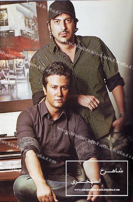 عکس نیما شاهرخ شاهی و شاهرخ استخری